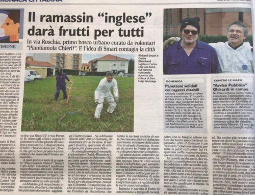 "Il ramassin ""inglese"" darà frutti per tutti"